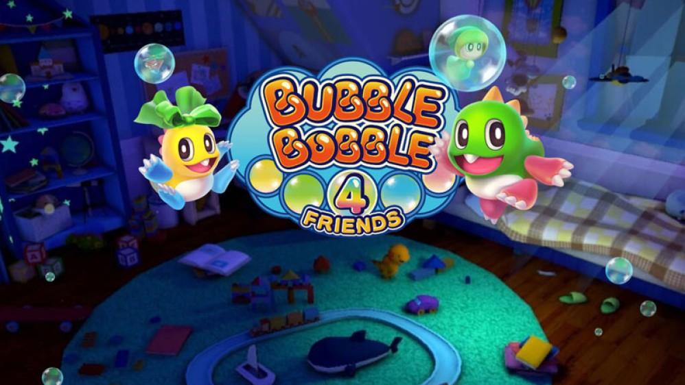 Bubble Bobble 4 Friends: Νέος τίτλος στη δημοφιλή σειρά από την Taito!