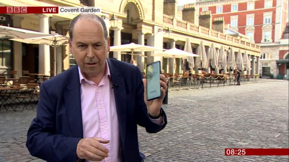 Στη δοκιμή του BBC για ζωντανή μετάδοση μέσω δικτύου 5G, τελείωσαν ταχύτατα και τα δεδομένα...