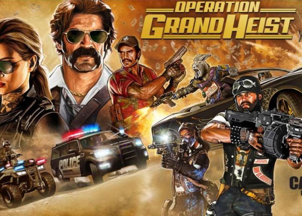Call of Duty: Black Ops 4 Operation Grand Heist, νέο trailer για το τρίτο DLC του παιχνιδιού