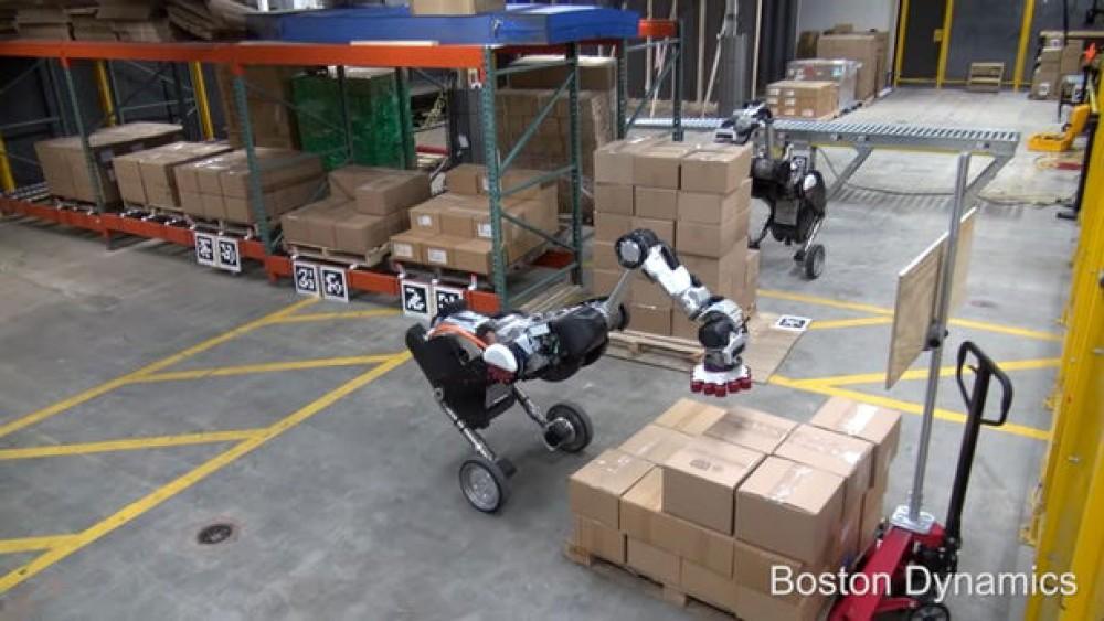 Handle: Το ιδιαίτερο ρομπότ της Boston Dynamics είναι ιδανικό για χρήση σε αποθήκες