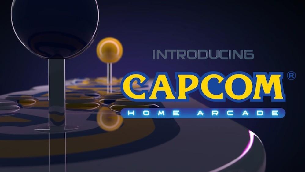 Capcom Home Arcade: Plug-and-play κονσόλα με 16 games και premium χειριστήρια