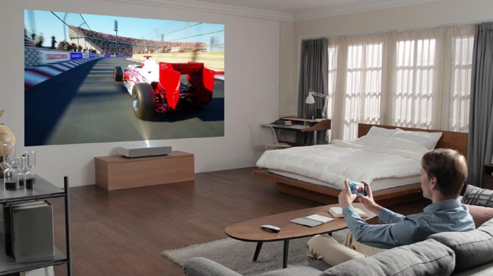 LG Cinebeam Laser 4K: Ο νέος προτζέκτορας με Ultra Short Throw τεχνολογία στο CES 2019