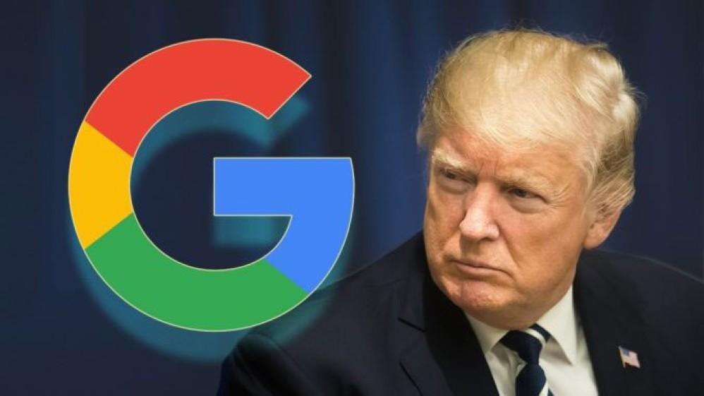 Ο πρόεδρος Trump επιτίθεται στη Google και δηλώνει ότι την παρακολουθούν πολύ στενά