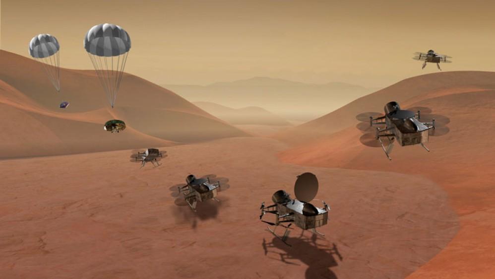 Dragonfly: Αποστολή στον Τιτάνα, τον μεγαλύτερο δορυφόρο του Κρόνου, το 2026! [Videos]