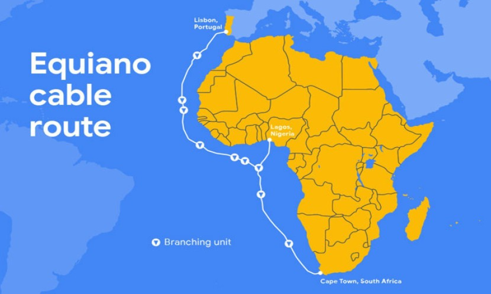 Equiano: Το νέο ιδιόκτητο υποθαλάσσιο καλώδιο Internet της Google που θα συνδέσει Ευρώπη με Αφρική