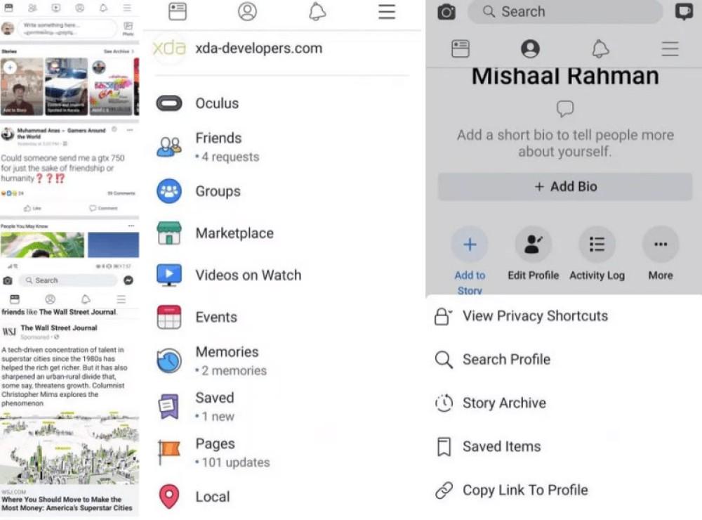 Facebook: Τέλος το μπλε χρώμα, δοκιμάζεται νέο design με έντονο το λευκό στοιχείο