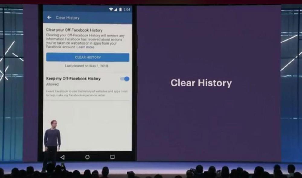 Το εργαλείο Clear History έρχεται σύντομα στο Facebook για μεγαλύτερη προστασία της ιδιωτικότητας