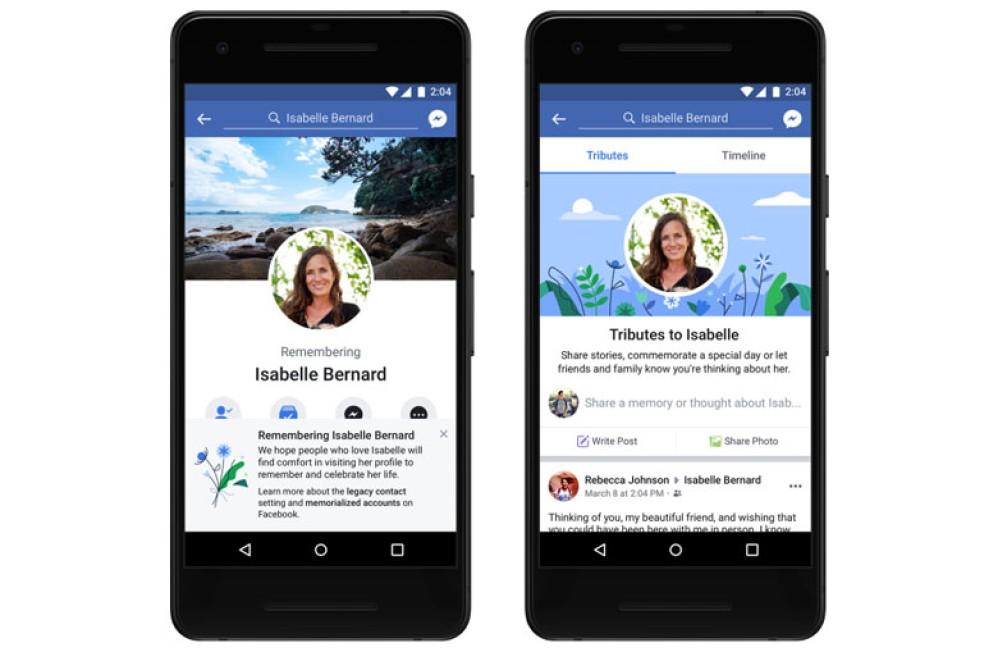 Facebook: Νέες επιλογές για τα προφίλ των πεθαμένων χρηστών