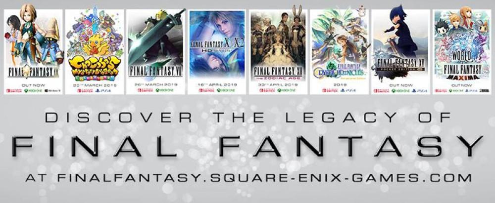 Ανακάλυψε μαγικούς κόσμους και ατέλειωτες περιπέτειες σε κλασικούς τίτλους Final Fantasy