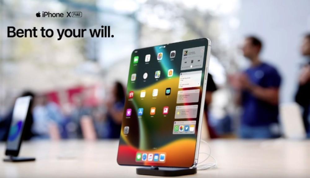 Αναδιπλούμενο iPhone; Αυτό θα ήταν ένα πολύ ενδιαφέρον concept