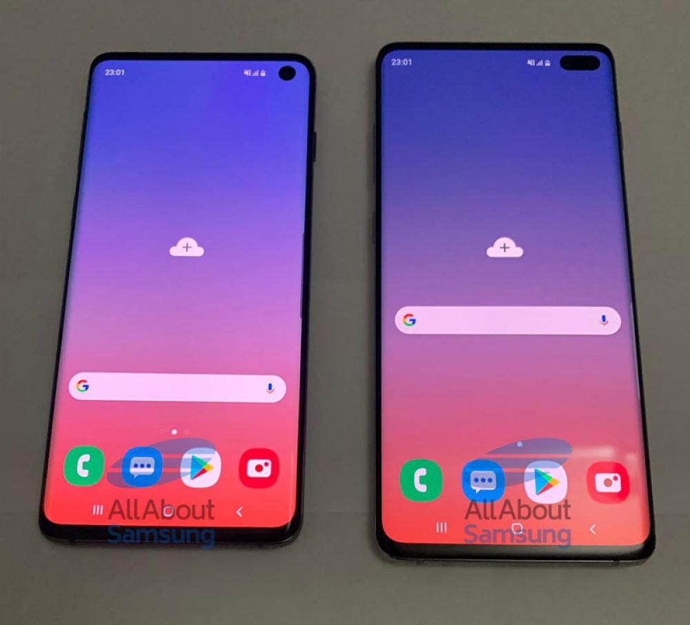 Samsung Galaxy S10/S10+: Αυτές είναι οι δύο ναυαρχίδες σε live φωτογραφίες