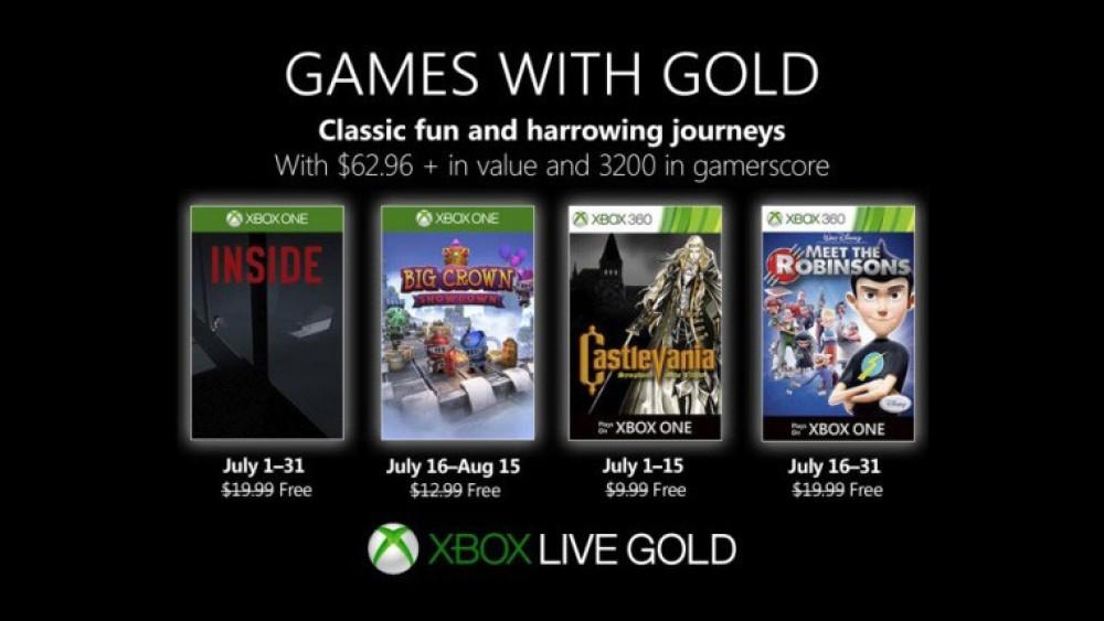 Xbox Live Gold: Τα δωρεάν παιχνίδια για τον Ιούλιο και 11 νέοι τίτλοι στο Xbox Game Pass [Video]
