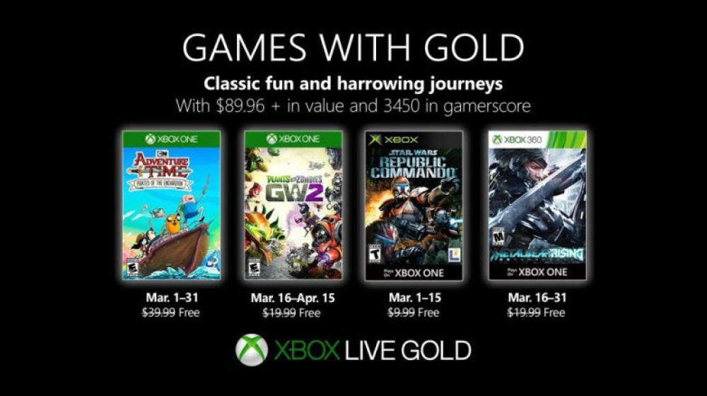 Xbox Game with Gold: Αυτά είναι τα δωρεάν παιχνίδια για το Μάρτιο