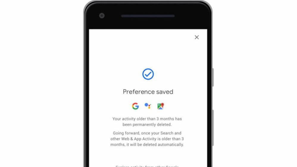 Αυτόματη διαγραφή του Location History και του Web & App Activity προσφέρει πλέον η Google