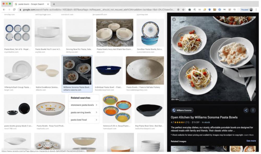 Google Images: Αλλαγή στην εμφάνιση των εικόνων στο Google Search