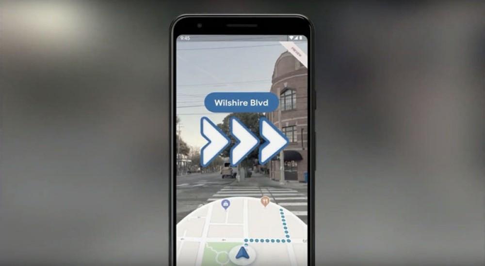 Google Maps: Πλοήγηση μέσω επαυξημένης πραγματικότητας σε Android και iOS