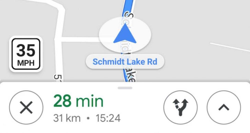 Google Maps: Άρχισε να εμφανίζει και τα όρια ταχύτητας σε ορισμένες περιοχές