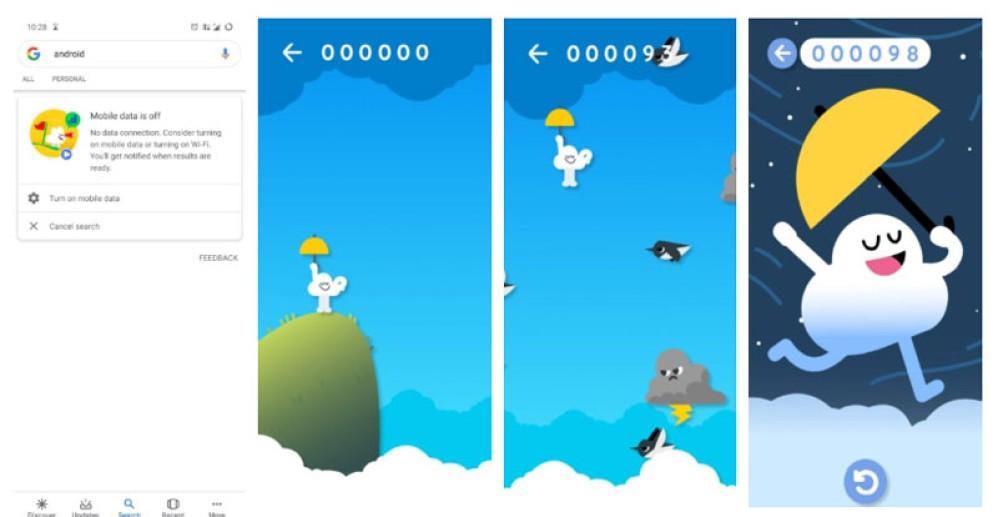 Βαρέθηκες το δεινοσαυράκι; Παίξε το νέο offline game της Google