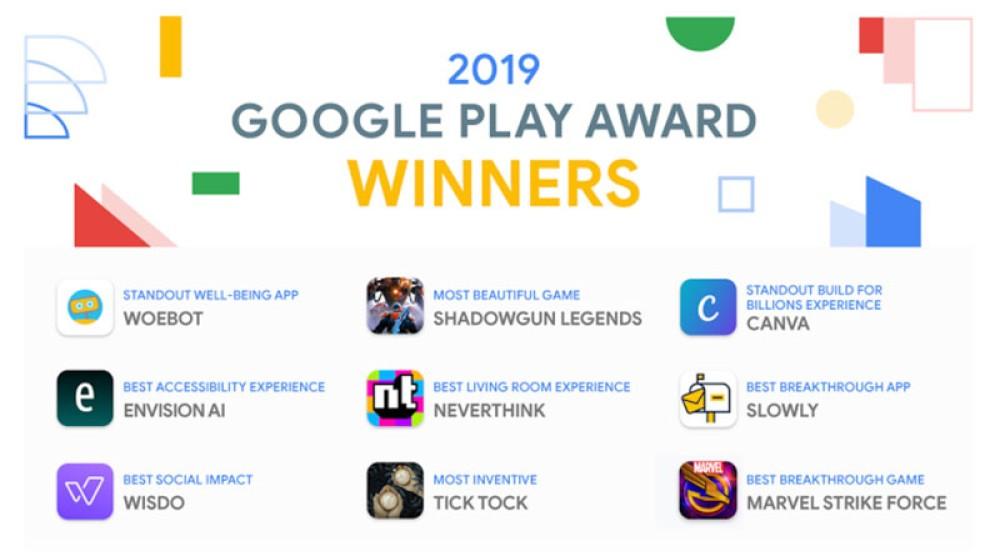 Google Play Awards 2019: Αυτές είναι οι κορυφαίες εφαρμογές της χρονιάς!