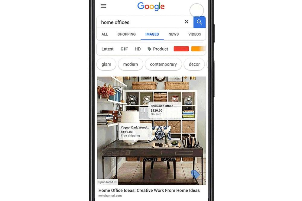 Η Google δοκιμάζει τη δυνατότητα αγοράς μέσα από την αναζήτηση εικονων