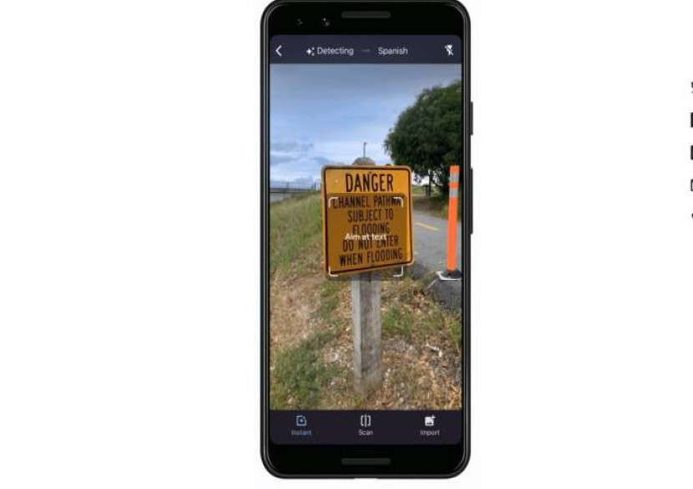 Google Translate: Νέες λειτουργίες για άμεση μετάφραση μέσω της κάμερας