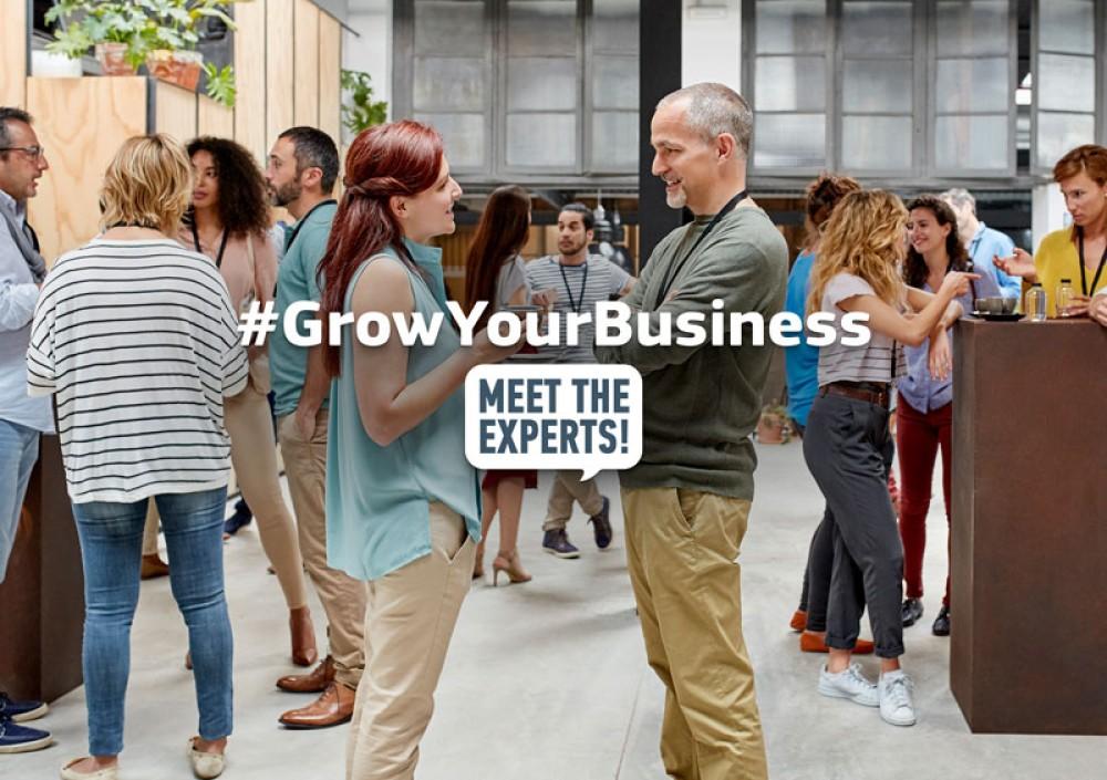 «Meet the Experts» στον νέο κύκλο #GrowYourBusiness δωρεάν για μικρομεσαίες επιχειρήσεις