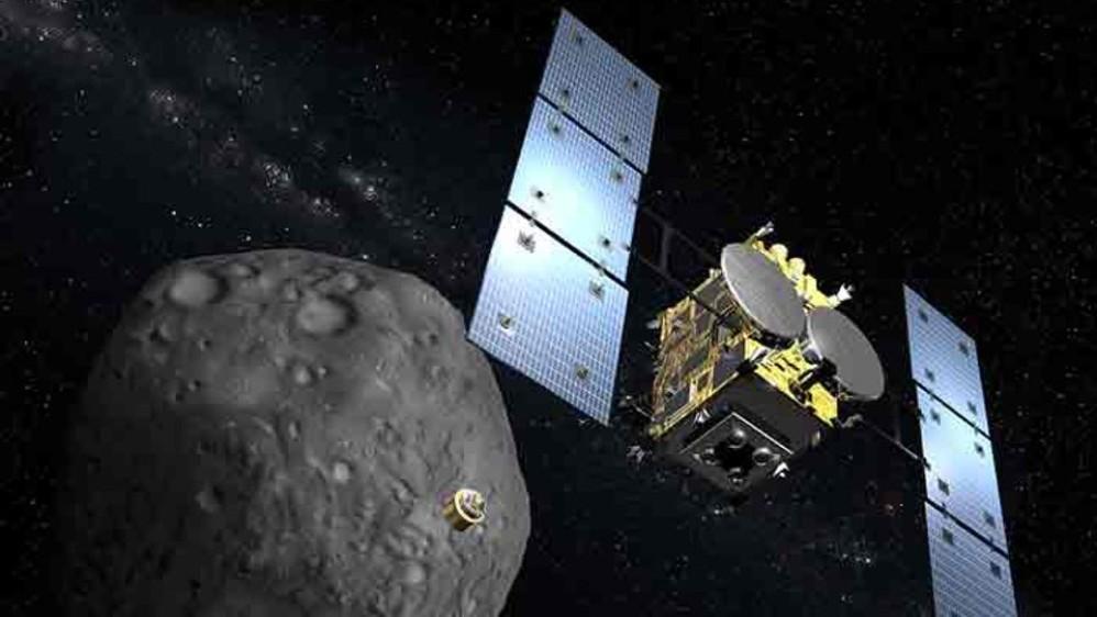 """Hayabusa2: """"Βομβάρδισε"""" τον αστεροειδή Ryugu, μια πρωτιά για ιστορία της Ανθρωπότητας"""