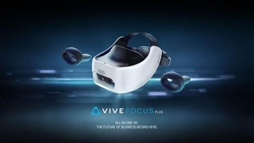 HTC Vive Focus Plus: Το νέο αυτόνομο VR headset με δύο τηλεχειριστήρια