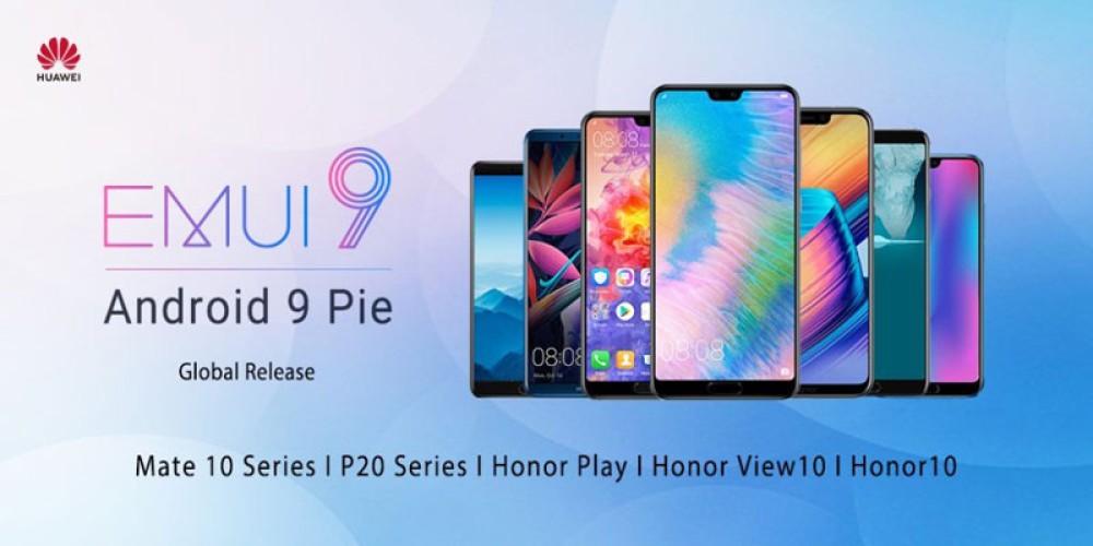 EMUI 9.0: Έρχεται από μέρα σε μέρα για 7 smartphones των Huawei και Honor