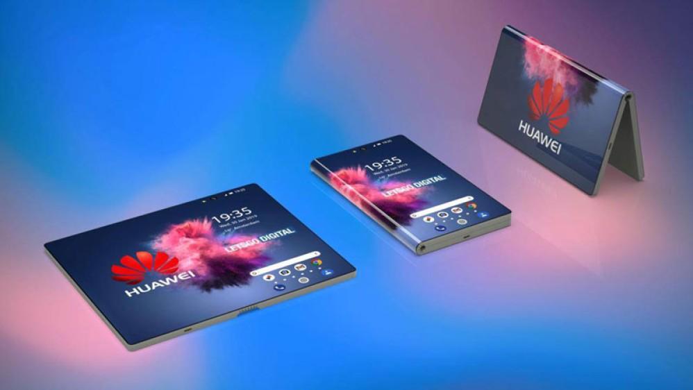 Το αναδιπλώμενο smartphone της Huawei σε εντυπωσιακά concept renders