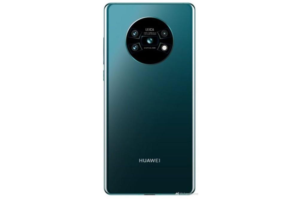 Huawei Mate 30: Το πρώτο render αποκαλύπτει αλλαγή στο camera module της τετραπλής κάμερας