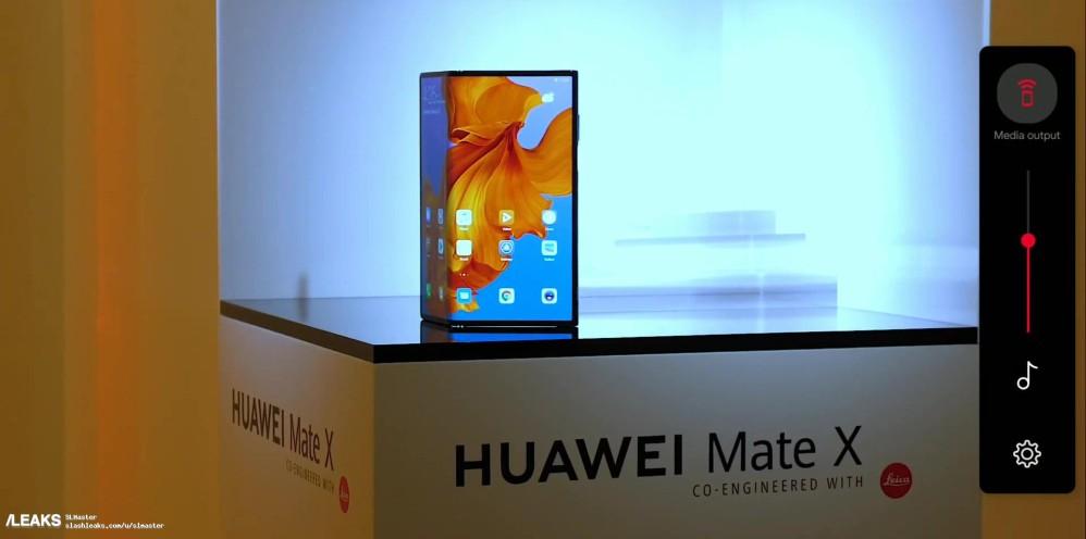 Huawei Mate X: Πρώτο βίντεο του αναδιπλώμενου smartphone της Huawei [Video Leak]