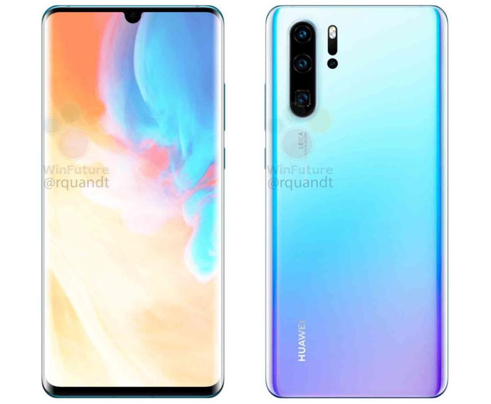 Huawei P30 / P30 Pro: Νέα επίσημα renders και αποκαλύψεις για τις κάμερες