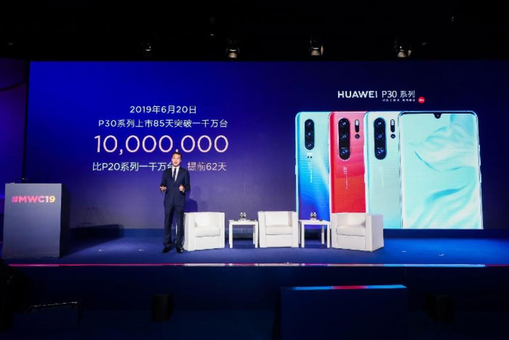 "Huawei P30: ""Διέλυσε"" το ρεκόρ πωλήσεων της σειράς P20 με 10 εκατ. τεμάχια σε 85 ημέρες"