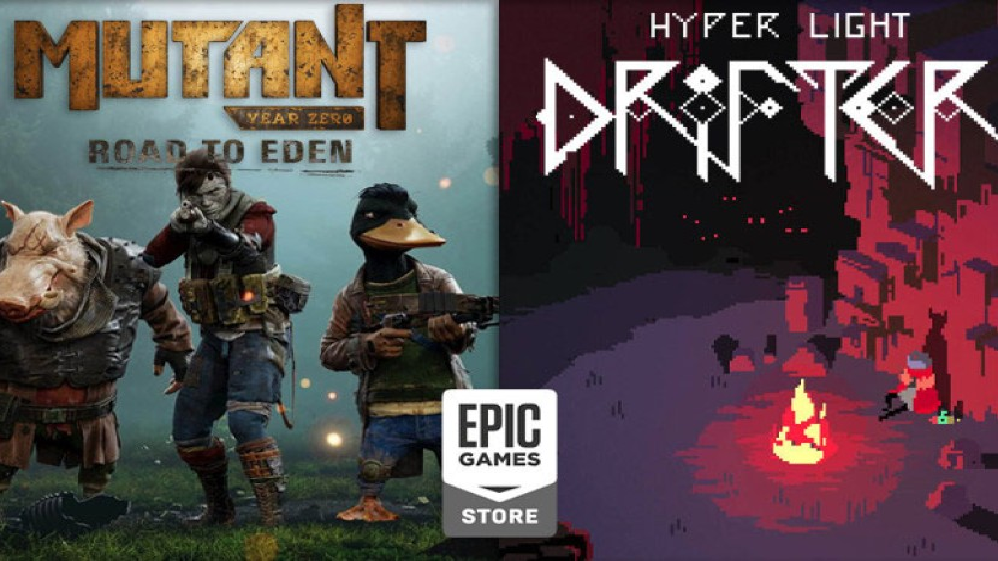 Hyper Light Drifter και Mutant Year Zero: Road to Eden δωρεάν στο Epic Games Store