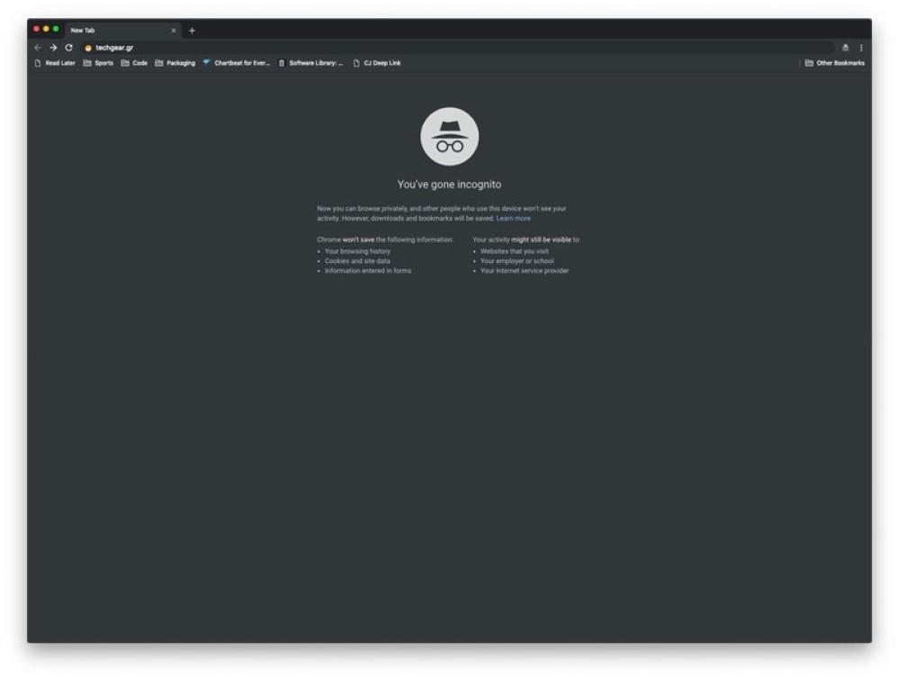 Google Chrome: Το νέο Incognito mode θα είναι πραγματικά...incognito