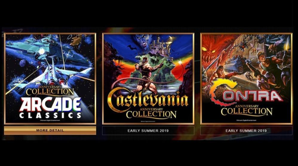 Η Konami ανακοίνωσε επετειακές συλλογές Castlevania, Contra και arcade για παιχνιδοκονσόλες
