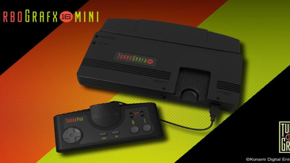 PC Engine Core Grafx Mini: Αυτή είναι η ρετρό παιχνιδοκονσόλα της Konami [Video]