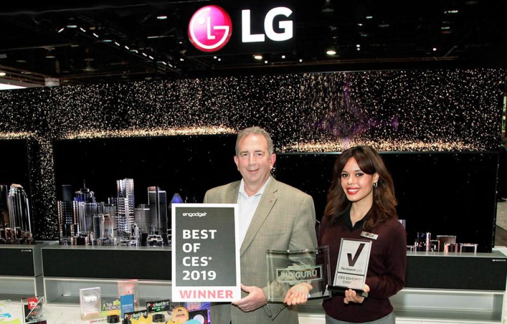 LG: Έλαβε πάνω από 140 CES Awards και τιμητικές διακρίσεις σε διαφορετικές προϊοντικές κατηγορίες