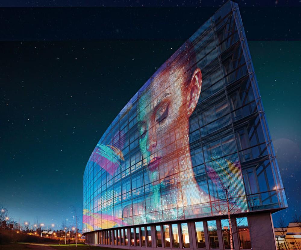 LG Transparent Colour LED Film: Μετατρέπει οποιαδήποτε γυάλινη επιφάνεια σε συναρπαστικό θέαμα