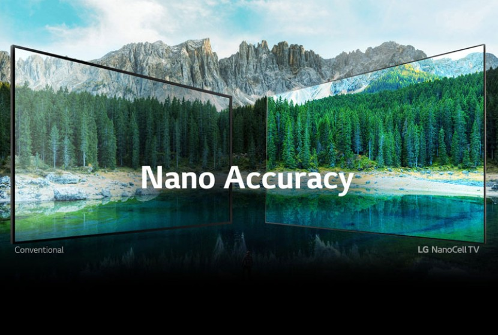 LG NanoCell: Ρεαλιστικές εικόνες, αρμονική σχεδίαση, προηγμένα χαρακτηριστικά