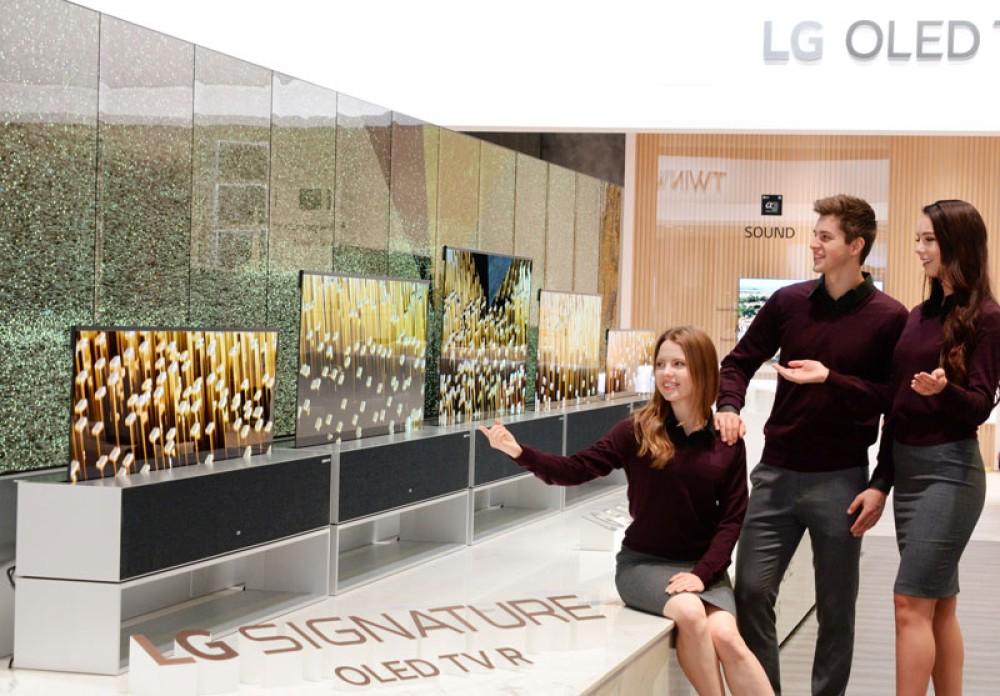 LG SIGNATURE OLED TV R: Η πρώτη στον κόσμο τυλισσόμενη τηλεόραση κυκλοφορεί μέσα στο 2019!