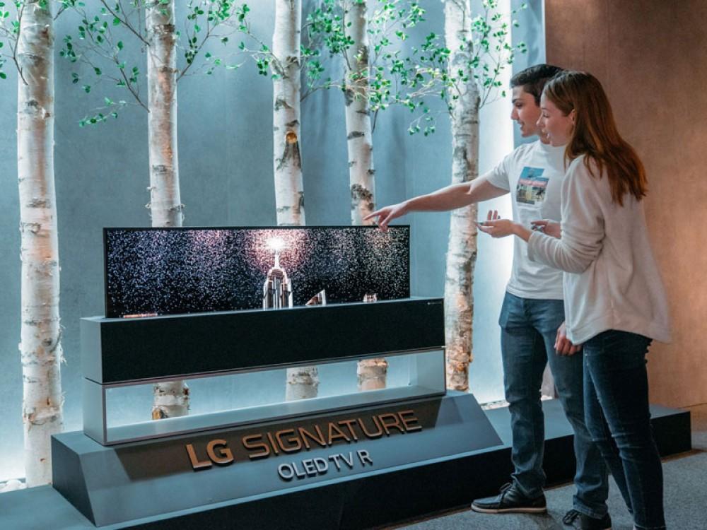 LG Inspiration Gallery: Robots, έξυπνος φωτισμός και....παγωτομηχανή στο SXSW