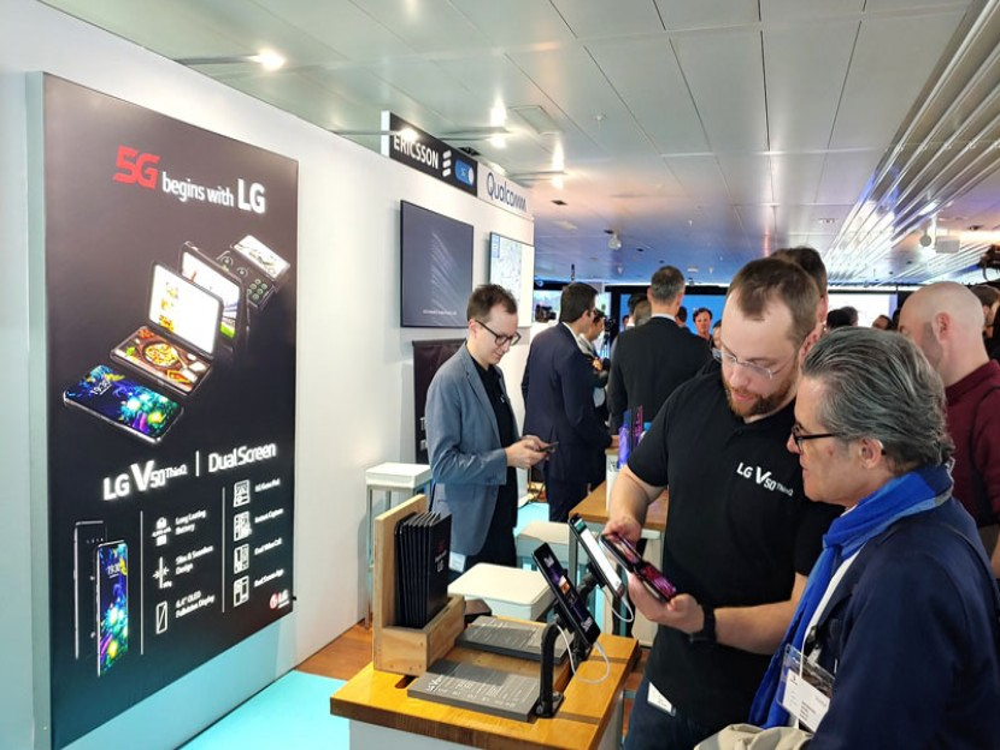 LG και Swisscom φέρνουν το 5G στην Ευρώπη
