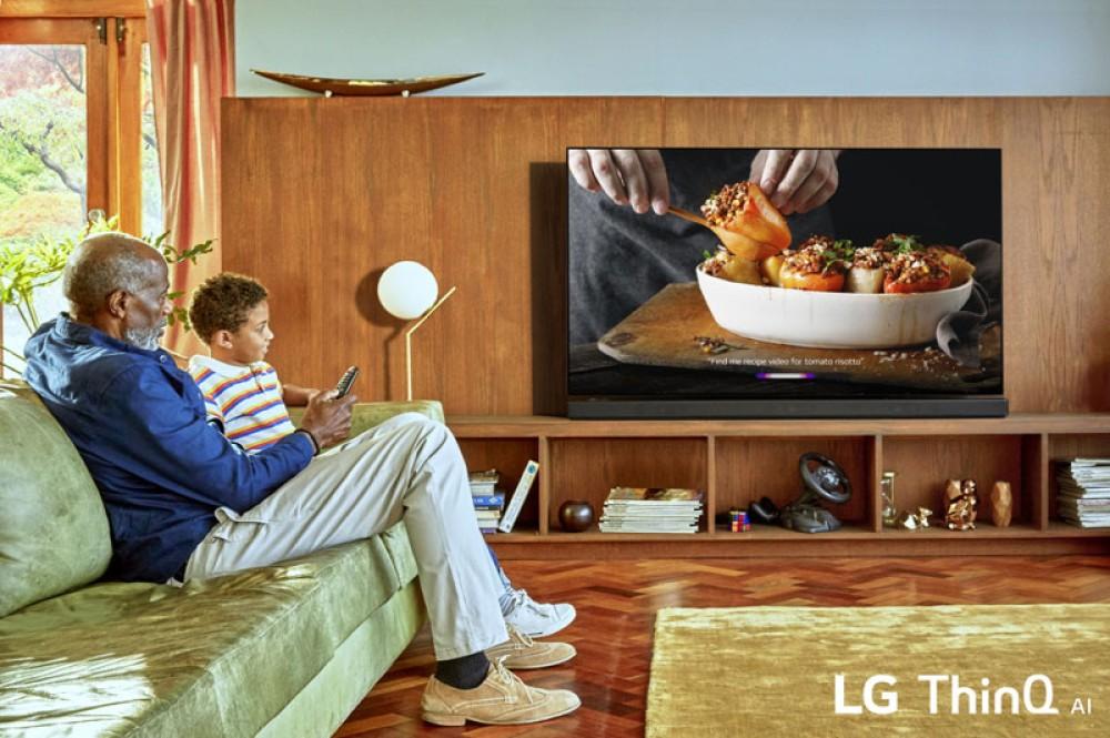 Νέες τηλεοράσεις LG με ThinQ AI και επεξεργαστή alpha 9 Gen 2 στη CES 2019