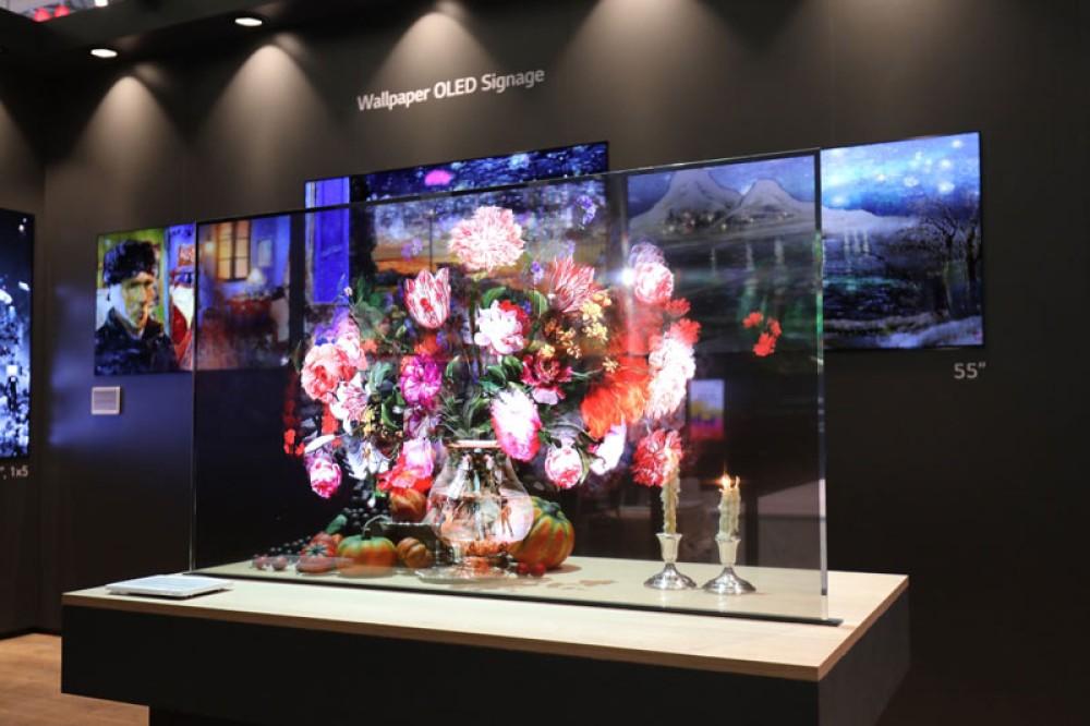 LG: Προηγμένες λύσεις Information Display στην ISE 2019