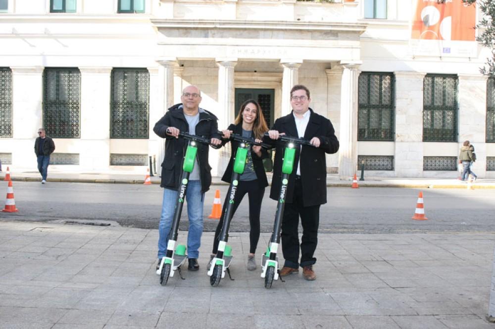 Lime: Τα ηλεκτρικά πατίνια της εταιρείας διαθέσιμα από σήμερα και στην Αθήνα!