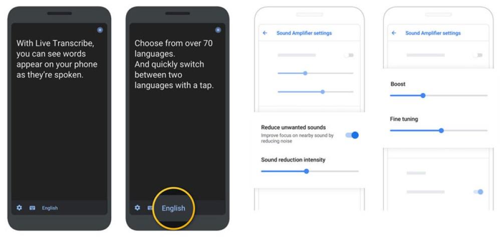 Live Transcribe και Sound Amplifier, οι νέες εφαρμογές της Google για ανθρώπους με προβλήματα ακοής