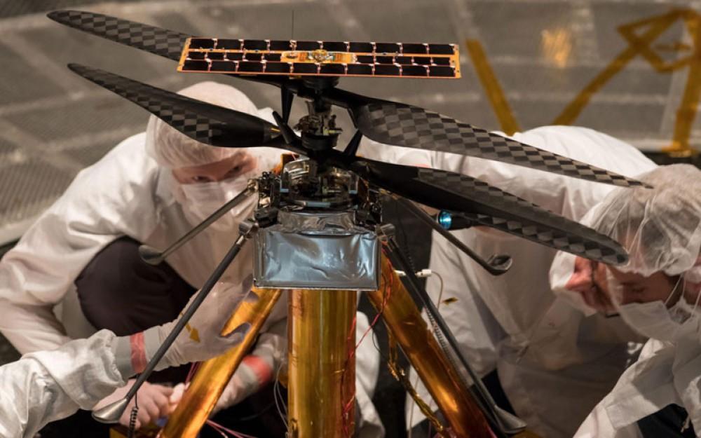 MARS Helicopter: Έτοιμο για τον πλανήτη Άρη μετά τις επιτυχημένες δοκιμές της NASA