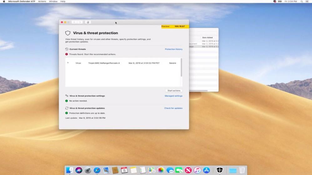 Microsoft Defender: Διαθέσιμο το antivirus και για υπολογιστές Mac